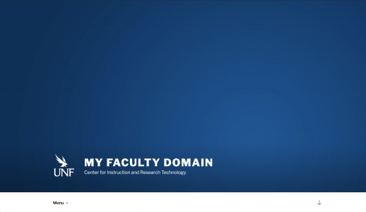 Faculty Domains 2017 Theme Screenshot
