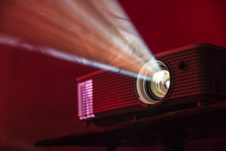 LCD projector light